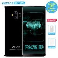 Vkworld S8 5 99 18 9 Aspect Ratio FHD 5500mAh Smartphone Face ID 4GB RAM 64GB