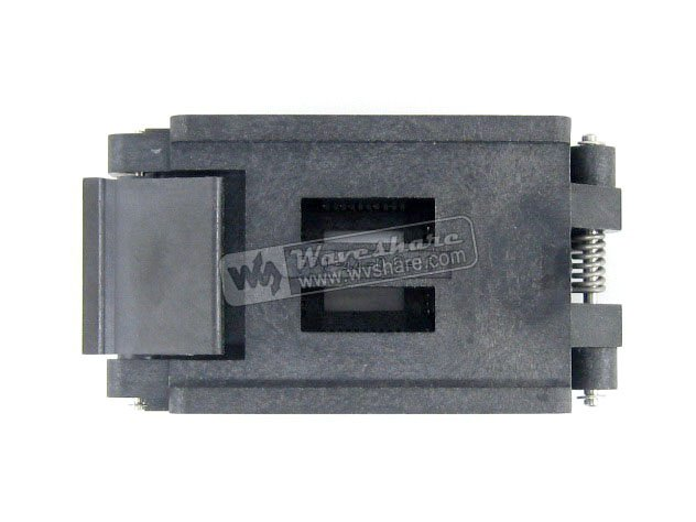 QFP44 TQFP44 LQFP44 PQFP44 FPQ 44 0 8 16A Enplas QFP IC Test Burn In Socket