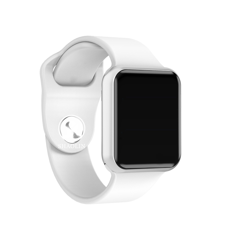 Smart Watch 4 Connected Bluetooth Men Women Smartwatch for iOS iPhone Xiaomi Huawei Sony Android Phone Apple Watch (Red Button)Smart Watch 4 Connected Bluetooth Men Women Smartwatch for iOS iPhone Xiaomi Huawei Sony Android Phone Apple Watch (Red Button)