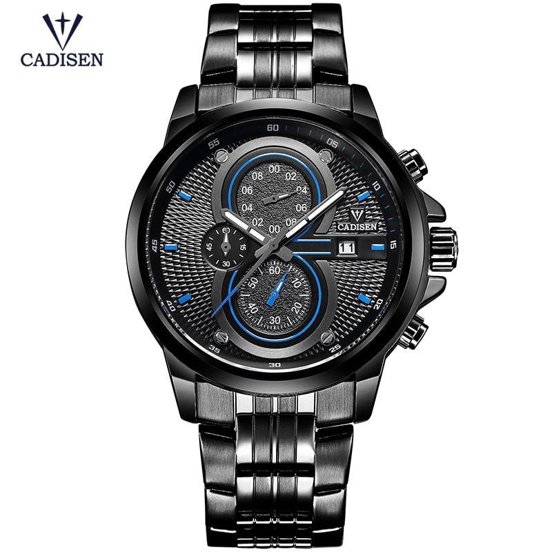 Cadisen New vīriešu pulkstenis sporta militāro kvarca vīriešu - Vīriešu pulksteņi