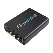 Retail HDMI to Composite / AV S-Video Converter RCA CVBS/L/R Video Converter Adapter PAL / NTSC CVBS / S-Video Switch 1080P цена и фото