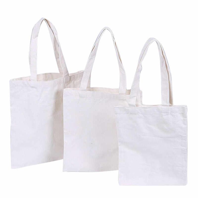 Donne Femminile di Tela Pieghevole Sacchetto di Spalla Tote della Tela di canapa di Acquisto di Eco BagCanvas Tote Bag casual Della Borsa della Spiaggia di Uso Quotidiano