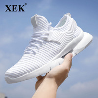 XEK Mans footwear Air Mesh Breathable Shoes For Men Sneakers Trainers Sapato Masculino Walking Shoes Zapatos Hombre ZLL268