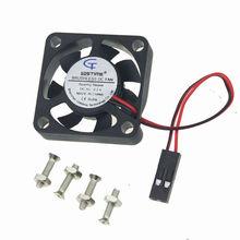 GDT Dupont 3007 3cm 3007s 30 x 30 x 7mm 30mm Screw DC Heatsink Brushless Cooling Fan 5V цена