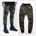 Kanye West Mens Joggers New Skinny Pants Camouflage Hip Hop Jogger Pants Military Camo Harem Cargo