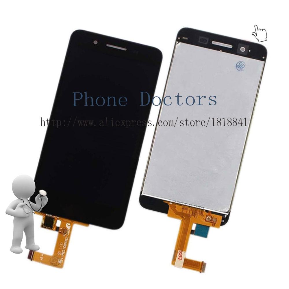 imágenes para 5.0 ''Pantalla LCD Full + Pantalla Táctil Digitalizador Asamblea Para Huawei Disfrutar 5S GR3 TAG-L01 TAG-L03 TAG-L13 TAG-L22 TAG-L23; negro