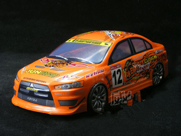 S040 EVO 1/10 1:10 PVC painted body shell for 1/10 RC hobby racing car 2pcs/lot free shipping