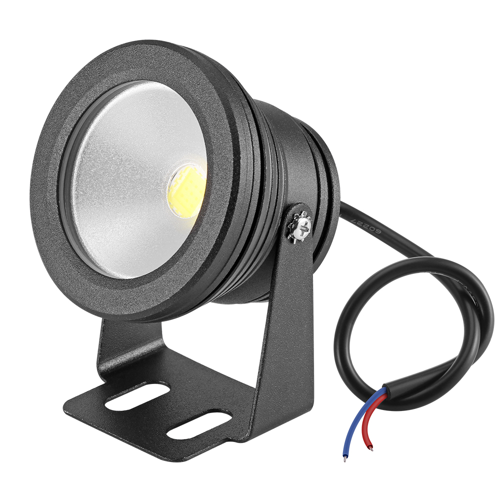 Dc 12v 10w Swimming Pool Led Light Ip65 900lm Underwater Fountain Light Spotlight Timing Fish Tank Aquarium Lamp Warm/cold White Selling Well All Over The World Lights & Lighting