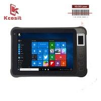 China 2019 K75 Barcode Reader 2D Windows Handheld POS Terminal Tablet Mobile Portable Wireless Scanner Digital Fingerprint PDA