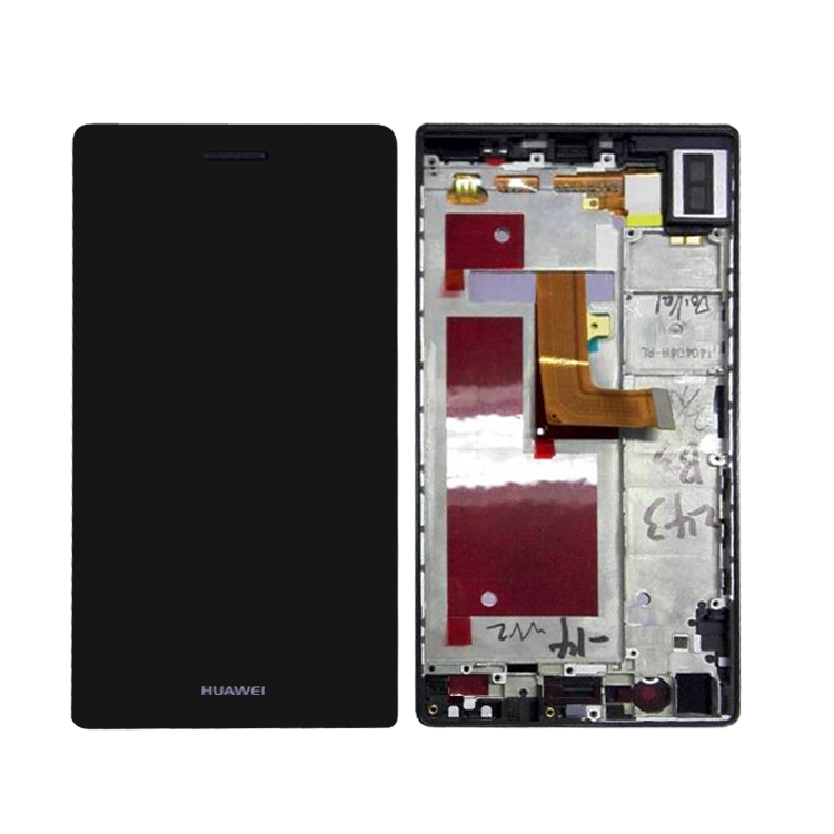 LCD Display And Touch Screen For Huawei P7 Assembly With Frame For Huawei P7 Repair Part Phone Accessories With Tools