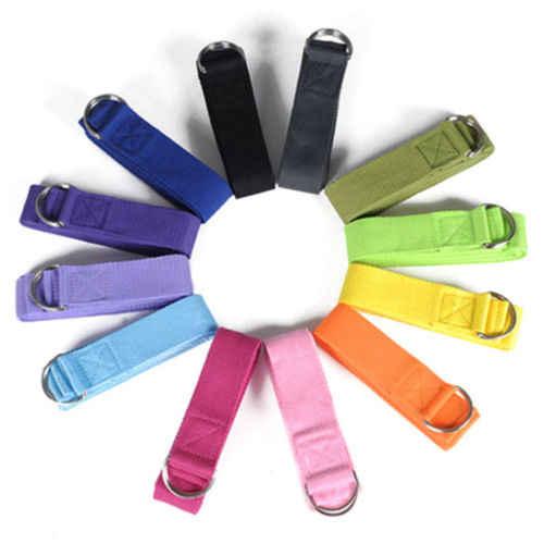Hot 183 cm joga piłat rozciągliwy pasek pierścień w kształcie litery D pas treningowy talia nogi gumy do ćwiczeń prezent