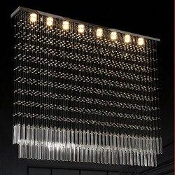Nowoczesne kreatywne oświetlenie sufitowe luksusowe K9 kryształ B oprawę oświetleniową schodów restauracja oświetlenie do salonu inżynierii światła
