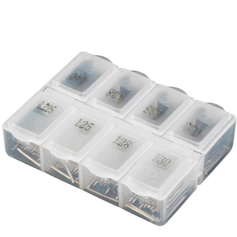 160 PCS Piano Repair Pin Piano Tuning Maintenance Tool Plastic Shaft Nail Box Feed Shaft Nail 8 Specifications Acceptance