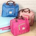 Dobrar À Prova D' Água Ombro Reutilizável Eco Shopping Travel Bag Bolsa Tote Bolsa das mulheres viajar sacos