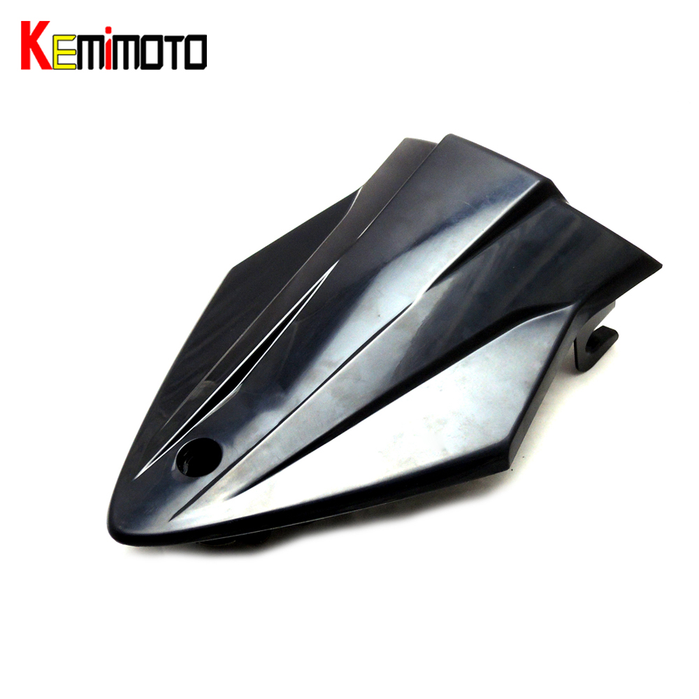 For BMW S 1000RR Motorcycle ABS Plastic Unpainted Rear Seat Cover Fairing Cowl For BMW S1000 RR 2015 after market
