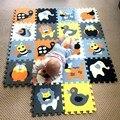 MEIQIKCOOL 30*30*1 cm Educativos Baby play Mat Puzzle Estera Crawling mat Ambiental No tóxico Niños gimnasio Alfombra de Juego Educativo