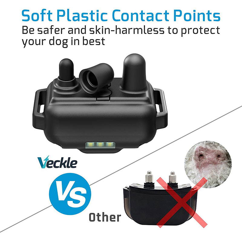 800m Waterproof and Rechargeable Electric Dog Training Collar with LCD Display with Remote Control or Shock and Vibration 2