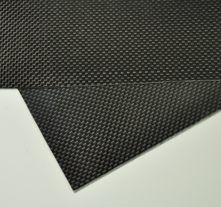 100mmX250mmX0.3mm 100% RC Carbon Fiber Plate Panel Sheet 3K Plain Weave Glossy Hot 1sheet matte surface 3k 100% carbon fiber plate sheet 2mm thickness