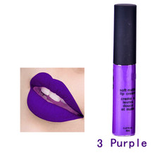 korean cosmetics brand velvet l ips matte makeup Liquid l ipstick matte nude l ipstick set Matte l ip Gloss batom make up(China)