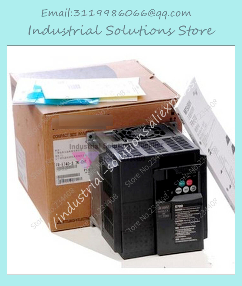 Inverter FR-E720-1.5 K 220v 1.5kw 3-phase Frequency Converter New new original inverter fr a740 15k c9