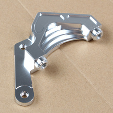 Best price Motorcycle Brake Caliper Bracket Adapter Support For Yamaha Scooter Cygnus-zr Cygnus-x Jogi Zy125t Modify(for 220mm Brake Disc)