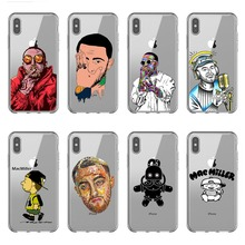 Rap singer Macs Mille Case silicone Soft Phone Case For iPhone Case Back Covers For iPhone 6 6S Plus 7 8 Plus X10 XR XS MAX macs for seniors for dummies®