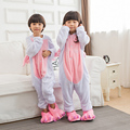 Kids Unicorn Pajamas Kigurumi Animal Pajamas For Girls Boys Children Funny Onesies Carnival Party Kids Unicorn cosplay costumes