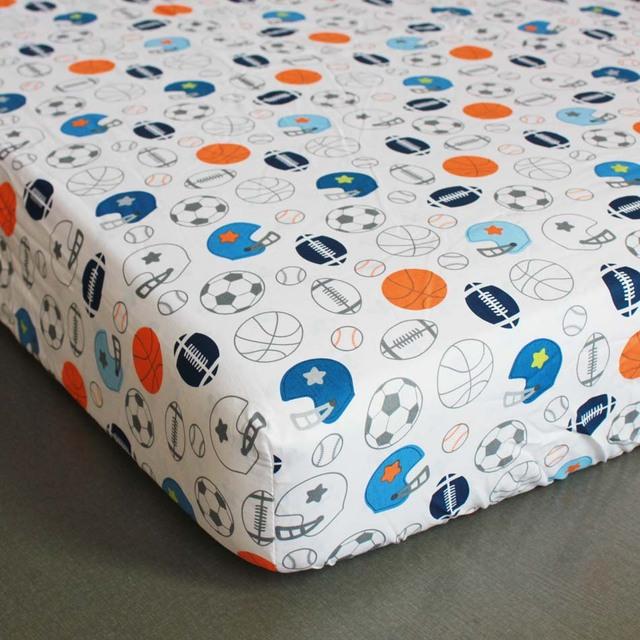 5pcs Baby Cot Bedding Sets Newborn Cot Bed Linen,Crib Bedding Set With Bumper Sheet ,include(4bumper+bed cover)