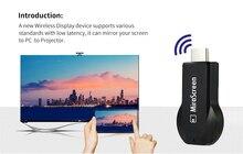 Miracast airplay Mirroring dongle EZcast 2.4G WiFi HDMI Dongle DLNA Miracast AirPlay chromecast 2 sans fil tv dongle feu bâton