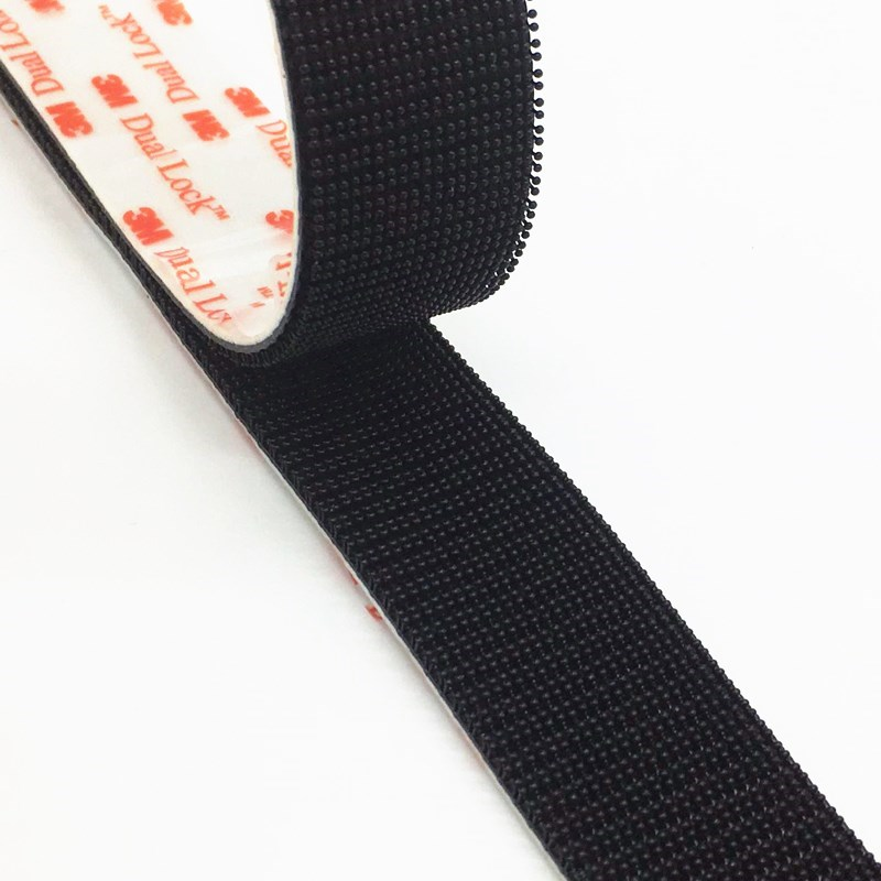 25x Black Elastic Cable With Double Hook 6MM X 20CM