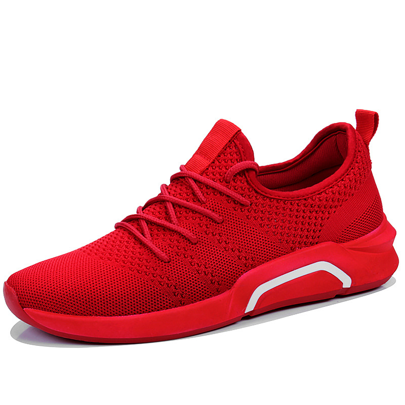 2018 Spring Autumn Fashion Mens Casual Shoes red bottom male footwear air mesh breathable adult sneakers size 39 442018 Spring Autumn Fashion Mens Casual Shoes red bottom male footwear air mesh breathable adult sneakers size 39 44