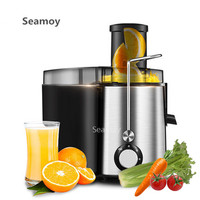 SEAMOY Juicers Juicer household electric juice machine multi function free cutting