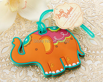 Popular Elephant luggage tag favors indian wedding favors Free Shipping 50pcs