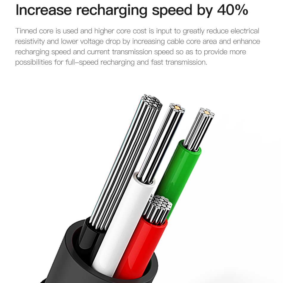 Baseus 90 Degree Micro USB Cable For Xiaomi Samsung Fast Charging Charger USB Data Microusb Cable Android Mobile Phone Cable in Mobile Phone Cables from Cellphones Telecommunications