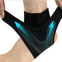 1 шт. фиксатор для поддержки лодыжки, эластичность, свободная регулировка, Защитная повязка на ногу, предотвращение растяжения, Спортивная Фитнес-Защитная повязка