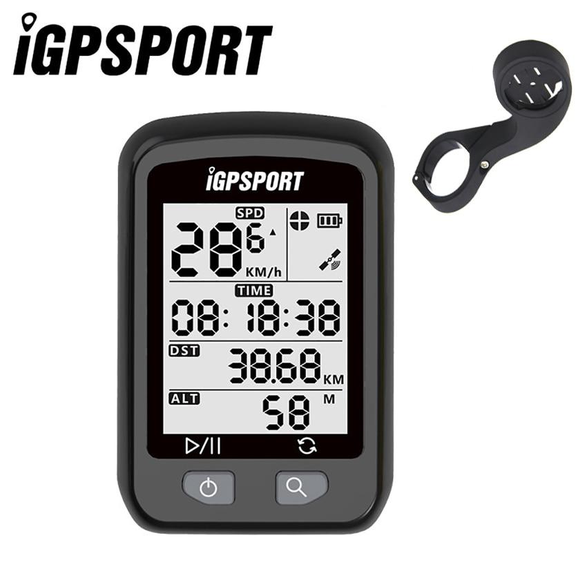 IGPSPORT Bike Drahtlose Stoppuhr GPS Fahrrad Drahtlose Computer IPX6 Wasserdicht Radfahren Tachometer mit S60 Out-Front Fahrradhalterung