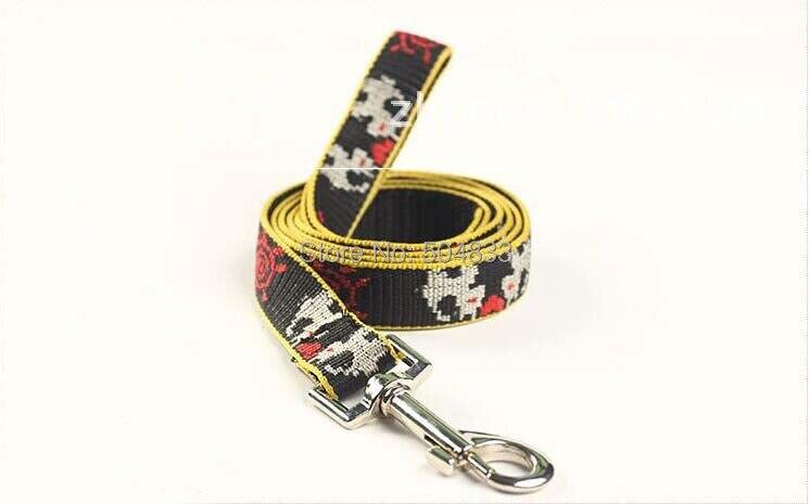 Сильный нейлоновый собачий поводок набор собачий поводок собачья упряжь, для домашних животных жгут домашних животных нейлоновый жгут поводок для домашних животных