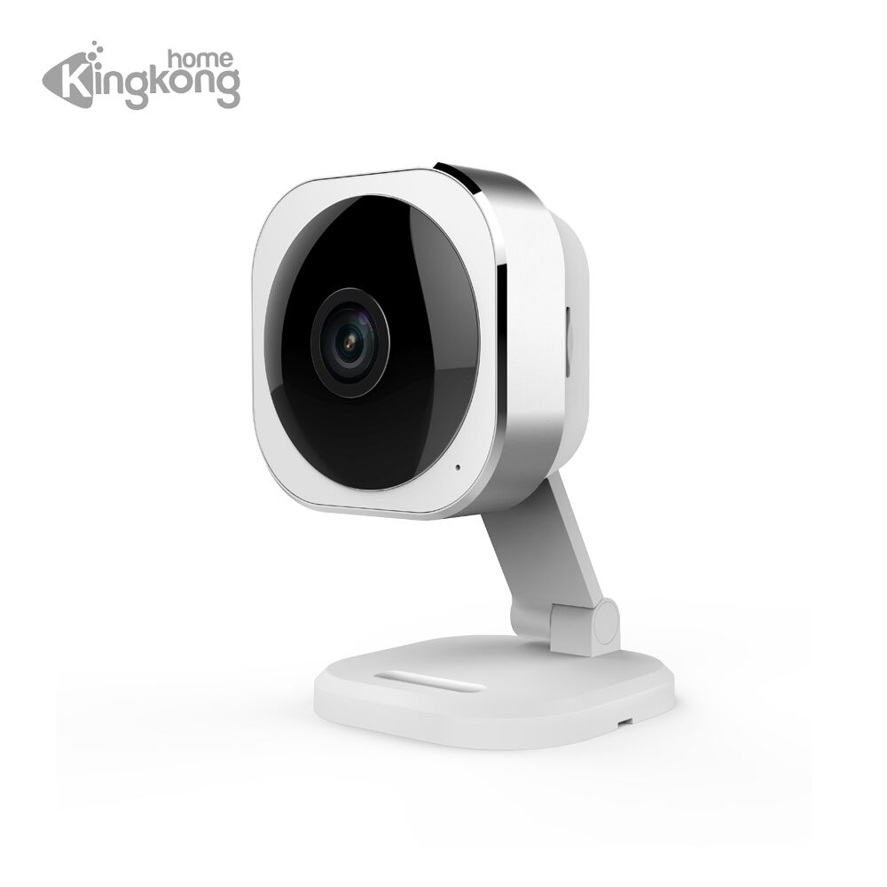 Kingkonghome IP Camera Wireless 1080P Wifi 180 degree Camera Security Surveillance Smart PTZ Cameras Night Vision CCTV Audio Cam