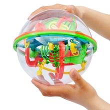 Children Gift 3D Magic Maze Ball font b Toys b font for Children Balance Logic Ability