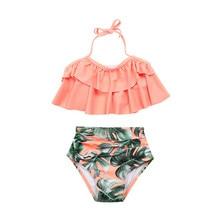1d1b25226 MUQGEW niño bebé niñas Bikini niños niña volantes baño trajes de baño traje  de baño 2019