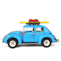 LEPIN 21003 1193Pcs Creator Series City Car Beetle model Building Blocks Compatible 10252 Blue Technic children toy gift