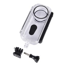 Plastic Waterproof Case For Insta 360 One X 360 Action Camera Underwater Video Protective Housing Water Resistant Case Accessory plastic protective case for xbox 360 controllers orange
