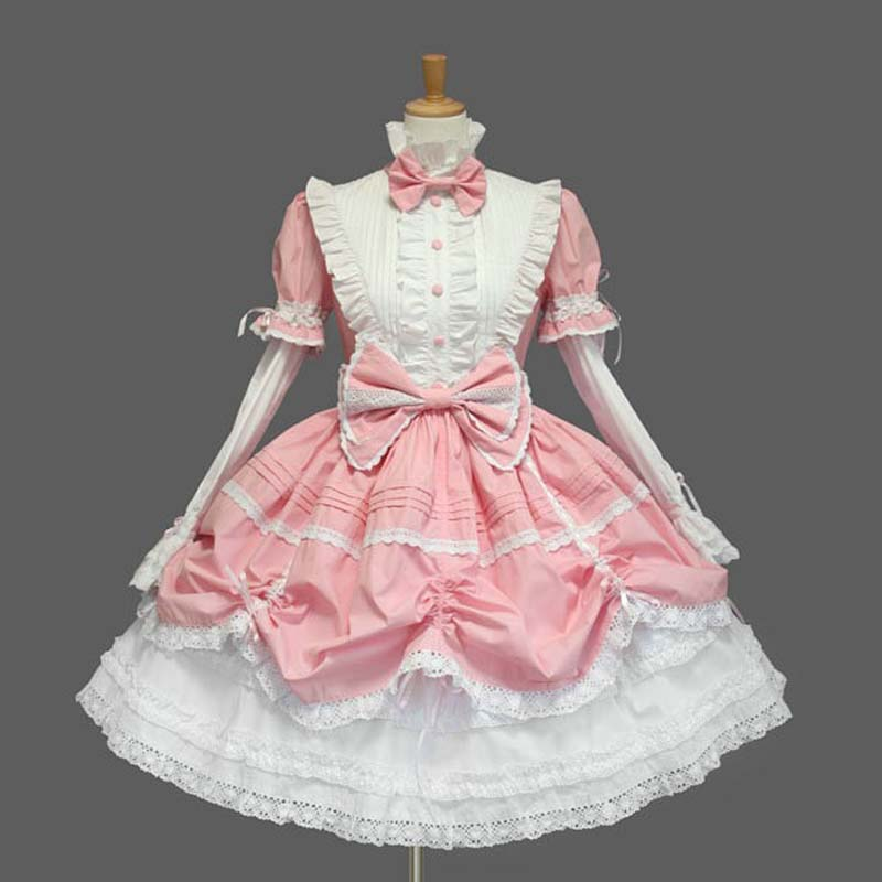Elegant Woman Ladies Cosplay Lolita Princess Dress