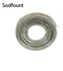 شحن مجاني خيط الحديد ختم الرصاص ختم سلك سهمين استخداما 35 متر/لفة