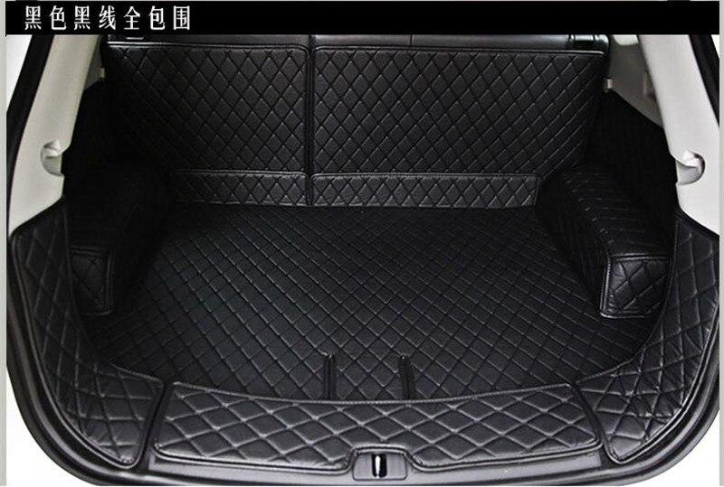 Bâches de voiture coffre de voiture plein de PU queue boîte pad protection pad pour Suzuki Grand Vitara 2007-2014 voiture style