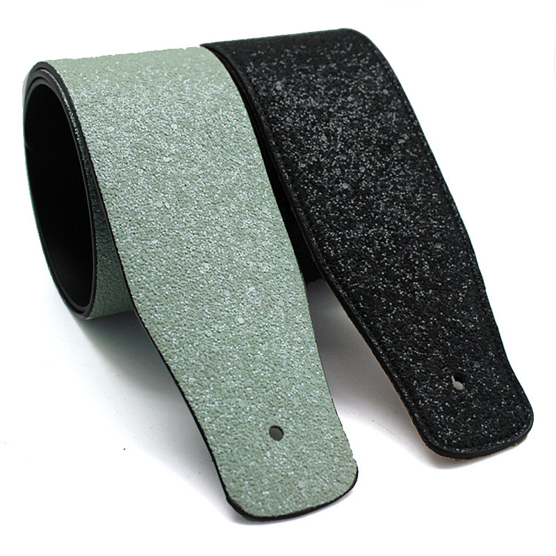 PU leather Electric guitar strap Bass wide guitar strap Leather acoustic universal guitarra strap accessories parts in Guitar Parts Accessories from Sports Entertainment
