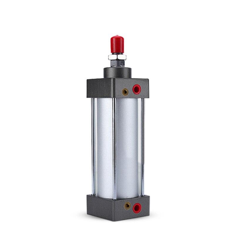 SC63*50 Rod aluminum alloy standard cylinder SC63X50 pneumatic components 63mm Bore 50mm Stroke  цена