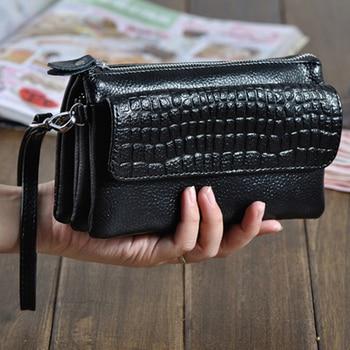 Genuine Leather Clutch