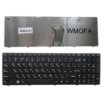 RU Black 100 New Laptop Keyboard FOR LENOVO IdeaPad G560 G560A G565 G560L G570 Z560 Z560A