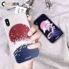 цены на CASEIER Patterned Case For iPhone 6S 6 Plus 7 8 Plus Ultra Thin Japanese Soft Back Cover For iPhone X 5s 5 SE Cases Conque Capa  в интернет-магазинах